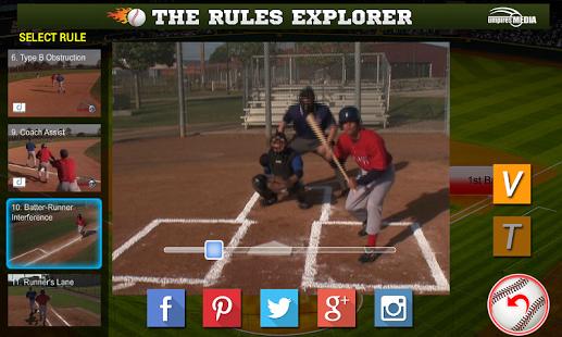 Baseball Rules Explorer Android Apps On Google Play Baseball Tips Baseball Coach App