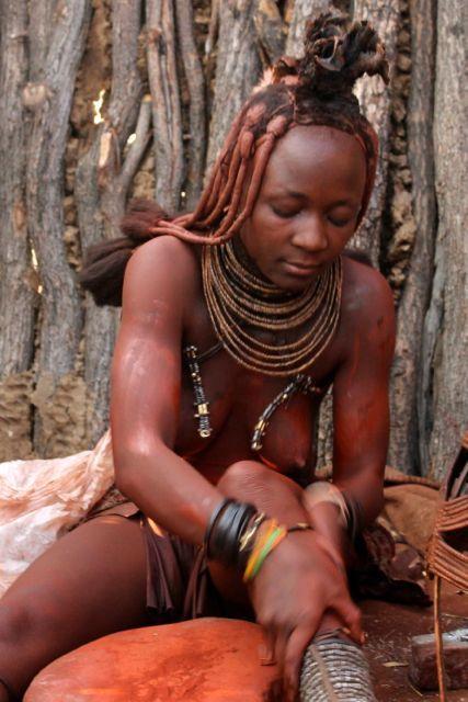 African bushman chubby
