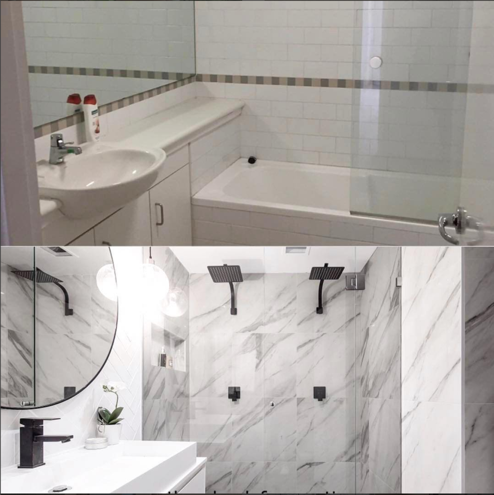 16 Before And After Bathroom Remodels That Are Literally Goals ...