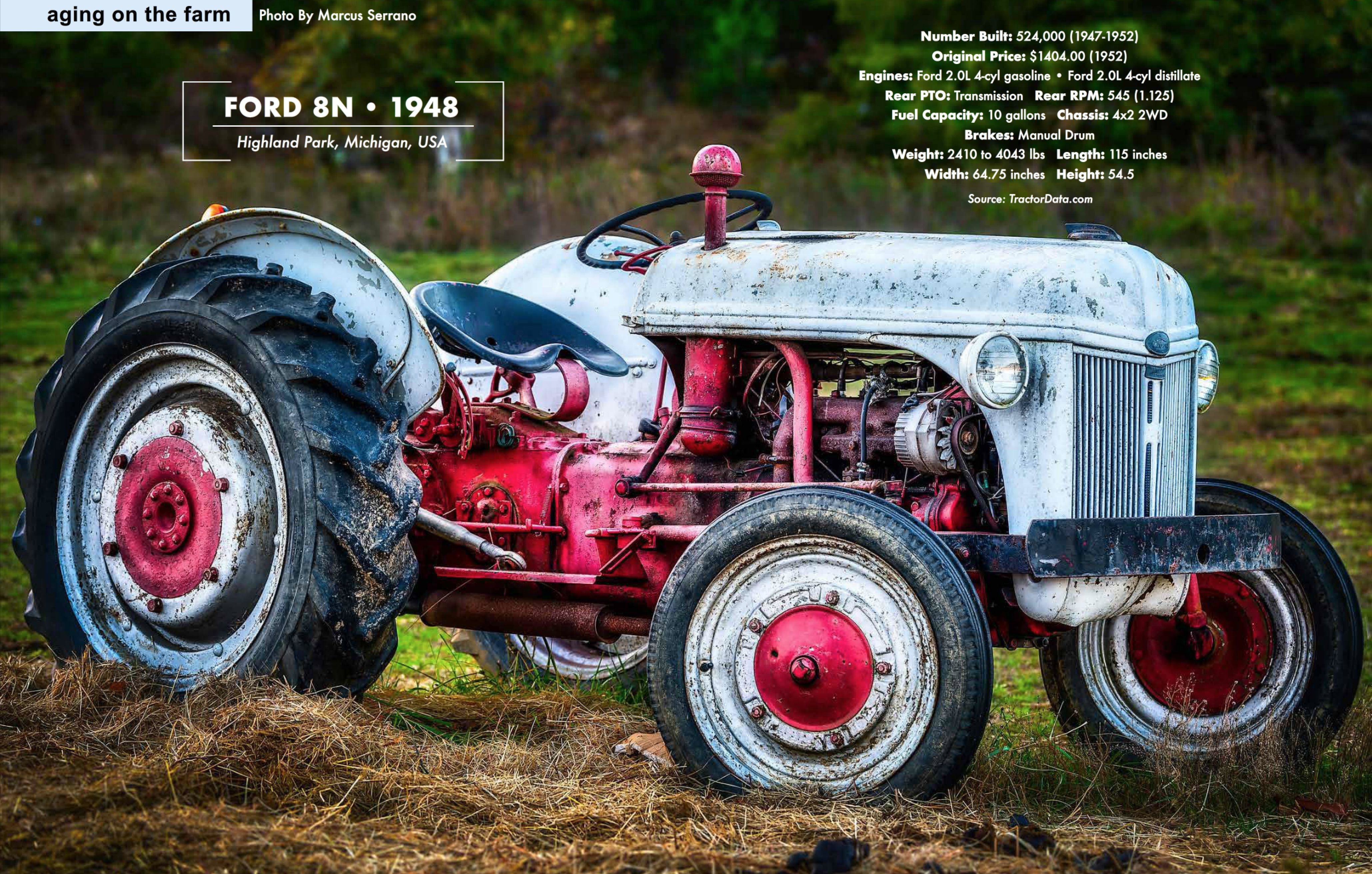 Ford tractor featured in Winter 2018