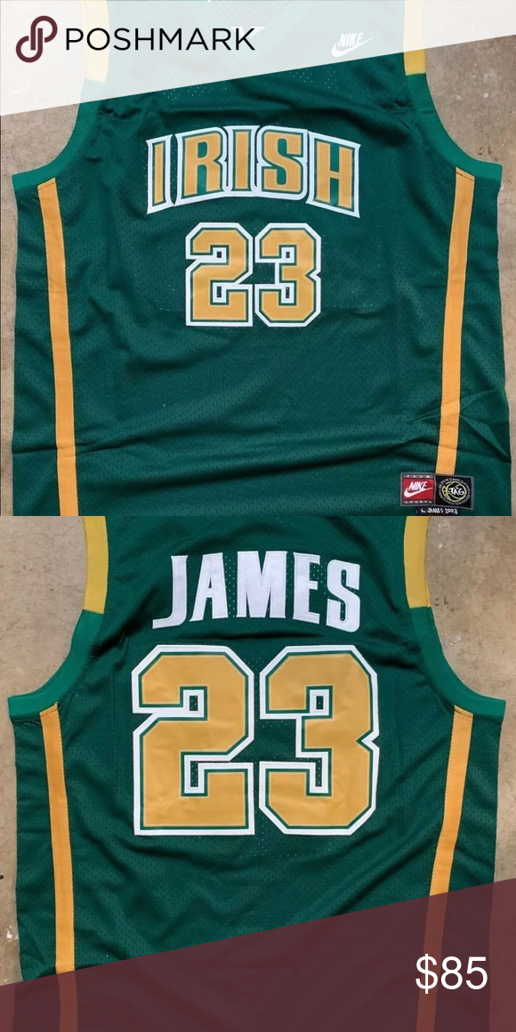 info for a032e 74fb3 Landon James Jersey. NWT LeBron James #23 St. Vincent St ...