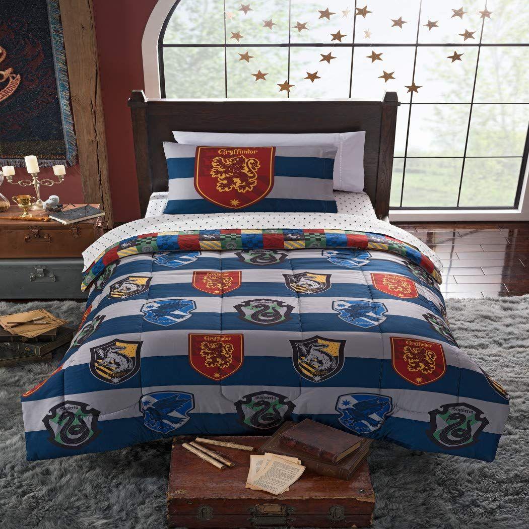 Amazon Com 4 Piece Kids Blue White Multi Harry Potter