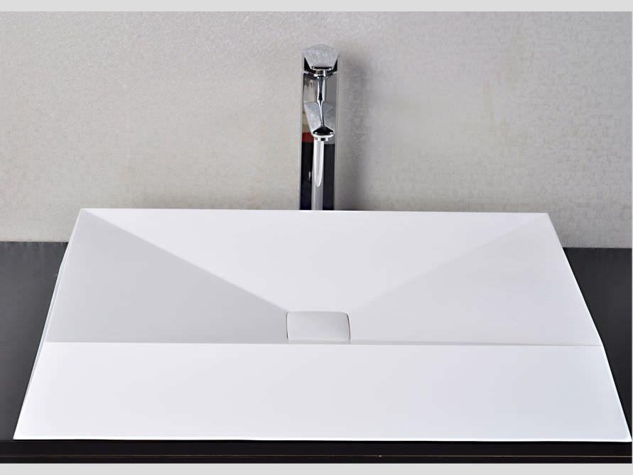 Waschtische Bilder tordino ein waschtische aus mineralguss in weiß matt oder glänzend