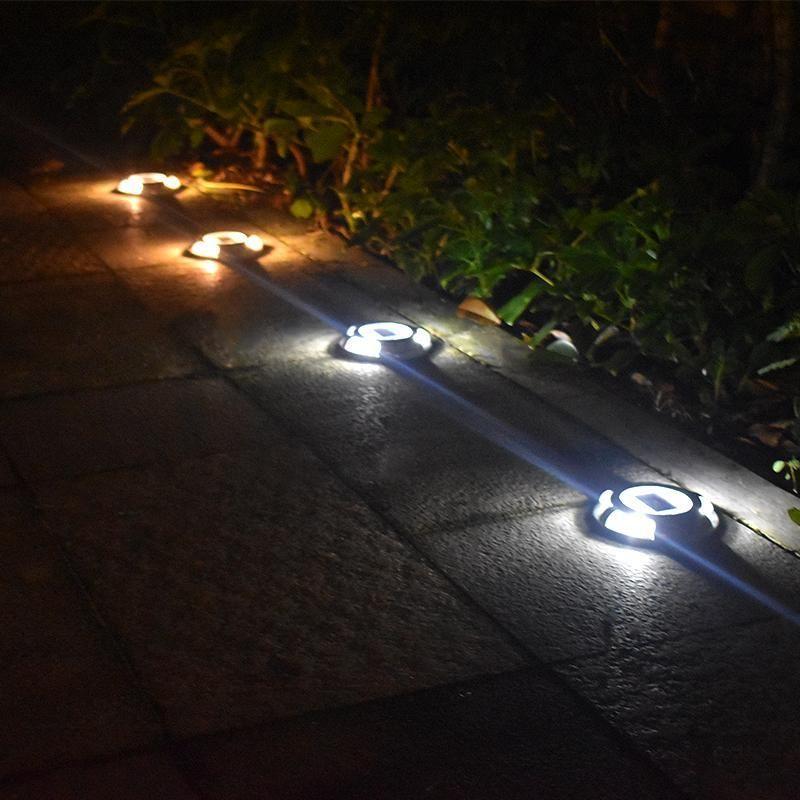 Lampe Solaire Exterieure De Sol Deck Patio Terrasse Trendszy Lampes Solaires Luminaire Solaire Eclairage Solaire