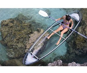 Crystal Clear Canoe With Images Kayaking Canoe Canoes