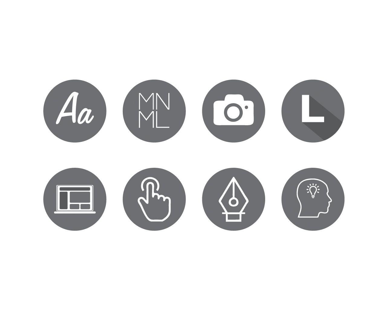 Resume Icons Cv Icon Icondesign Minimal Minimalist Logo Logodesign Creativity Graphicdesign