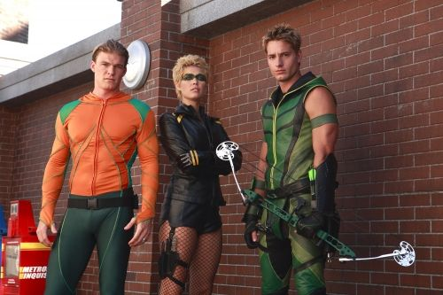 "Aquaman, Black Canary, Green Arrow from ""Smallville"" the ..."