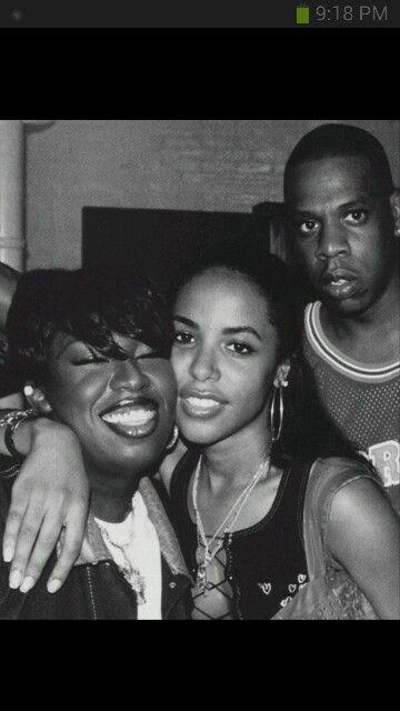 Missy Elliot,  Aliyah and Jay Z