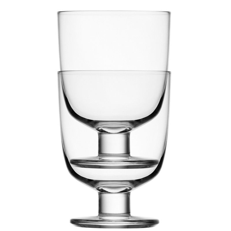 Iittala Lempi Glasses, Clear, Set of 2