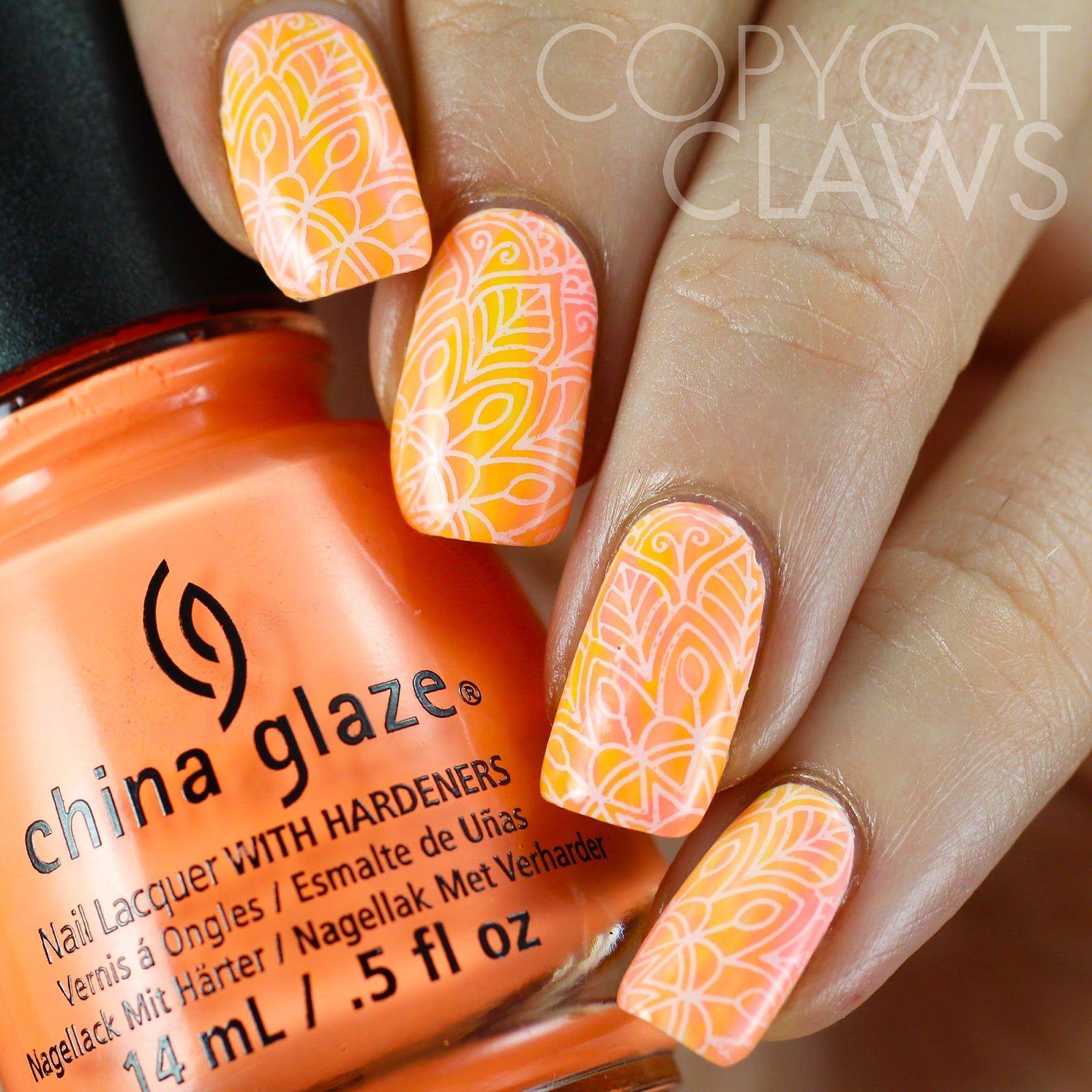 Neon Watercolor Nail Art (Copycat Claws) | Neon, Neon nails and Nail ...