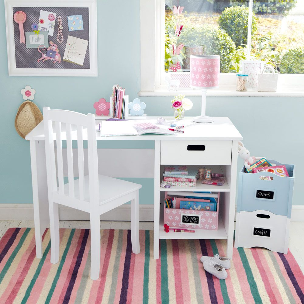 Skinny Oxford Desk Childrens desk, Kids furniture sets