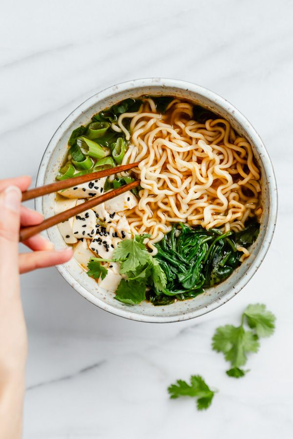 Quick Easy Vegan Ramen