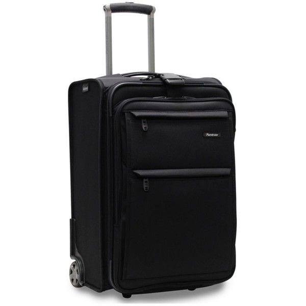 Pathfinder Black Pth Rev Bus Carry Blk (€255) ❤ liked on Polyvore featuring bags, luggage and black