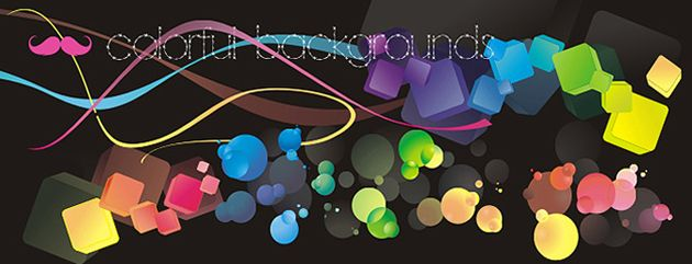 3 Colourful Backgrounds Vector | Free Vectors Daily | Download High-Quality Free Vectors Daily