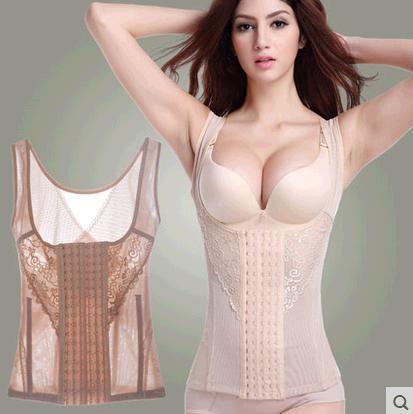 Top Crop Sport Autumn (upgrade Version) Thin Section Of Postpartum Abdomen Fat Burning Slimming Corset Vest Underwear Tights