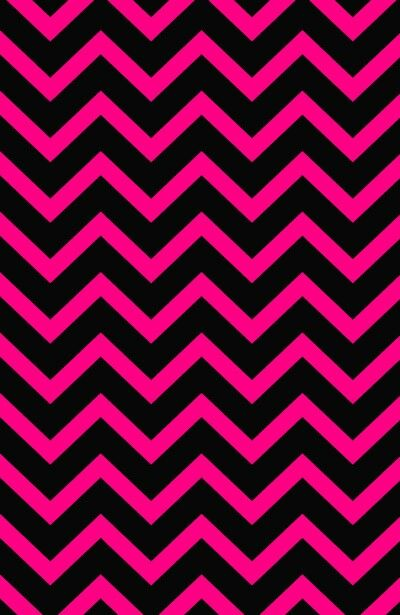 Hot Pink And Black Cheveron Wallpaper