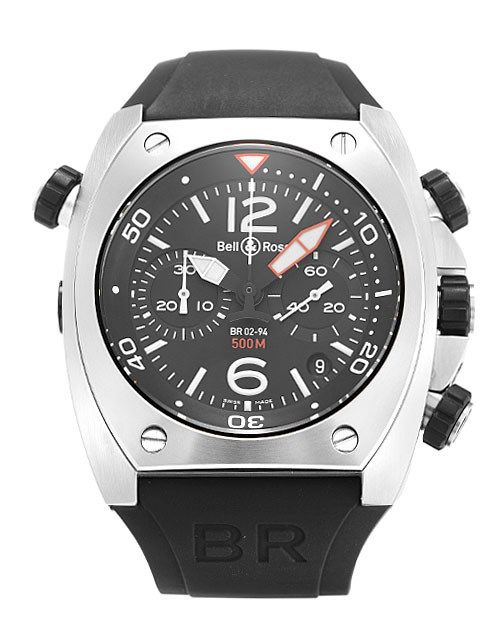 Bell and Ross BR02-94 Chronograph Steel