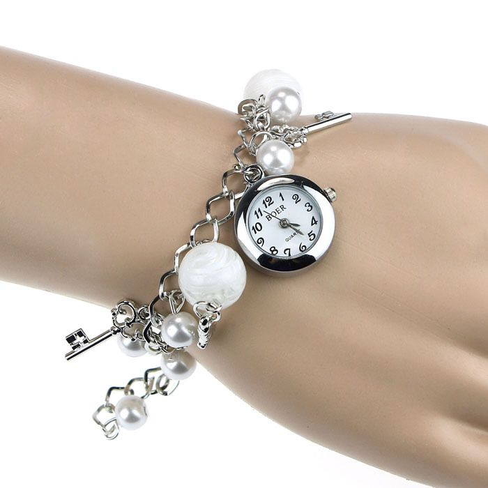 2015 New Style Women Girl Quartz Charms Bracelet Watch Ladies ...