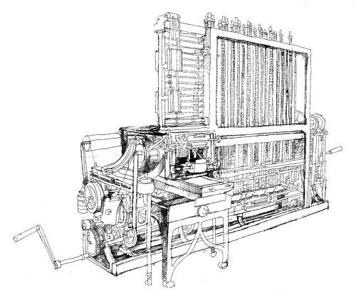 バベッジの階差機関 全体 Charles Babbage S Difference Engine