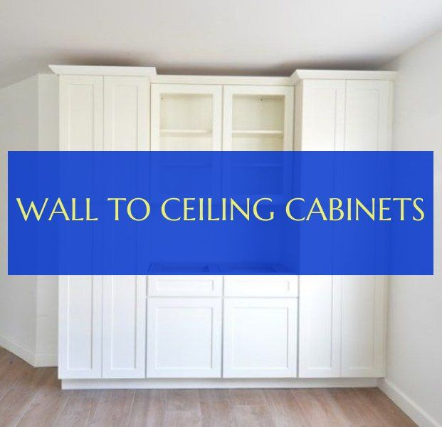 wall to ceiling cabinets