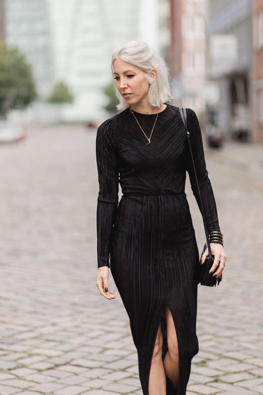 OUTFIT POST PLISSEE   stryleTZ   Zara kleider, Kleider, Modische ...