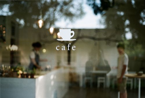 love this cute logo #cafe