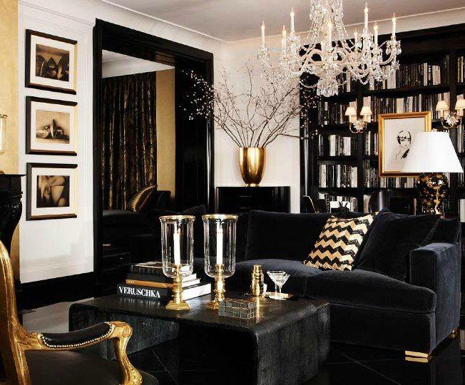 Dark N Y Living Room