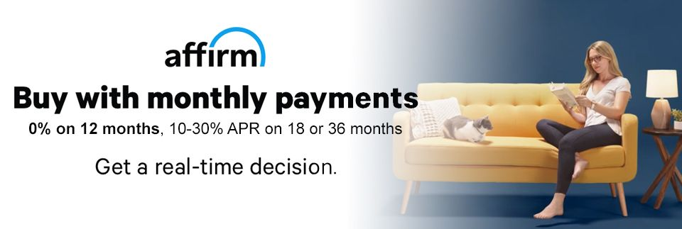 We Offer Monthly Payments On All Our Products Via Our Financing Partner Affirm 0 Apr For 12 Months Financin Finance Getting A Massage Good Massage