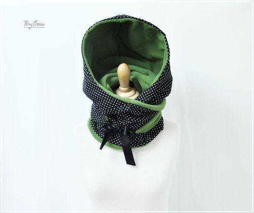 Capuche, écharpe, col en polaire et tissu   SEWING inspiration VRAC ... 38d08170400