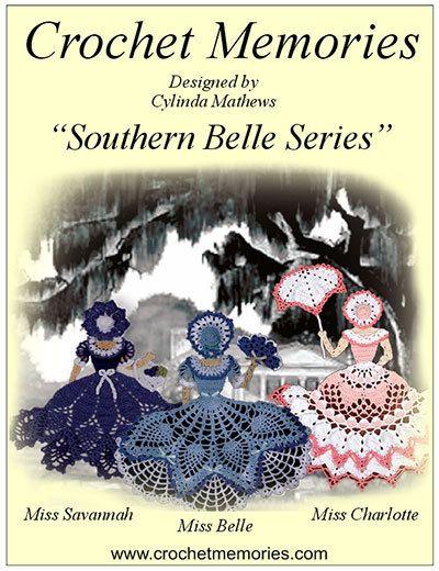 Southern Belle Series Pattern Pack Crochet by crochetmemories