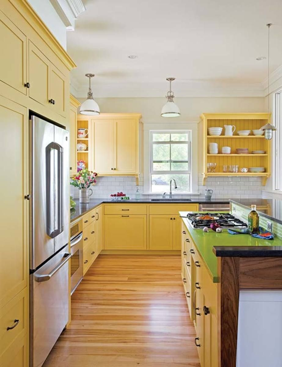 How To Design A Traditional Eco Friendly Kitchen Eco Friendly Kitchen Cabinets Yellow Kitchen Cabinets Kitchen Cabinet Design