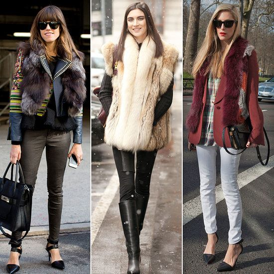 The Winter Staple No Street Style Star Goes Without | Fur, Street ...