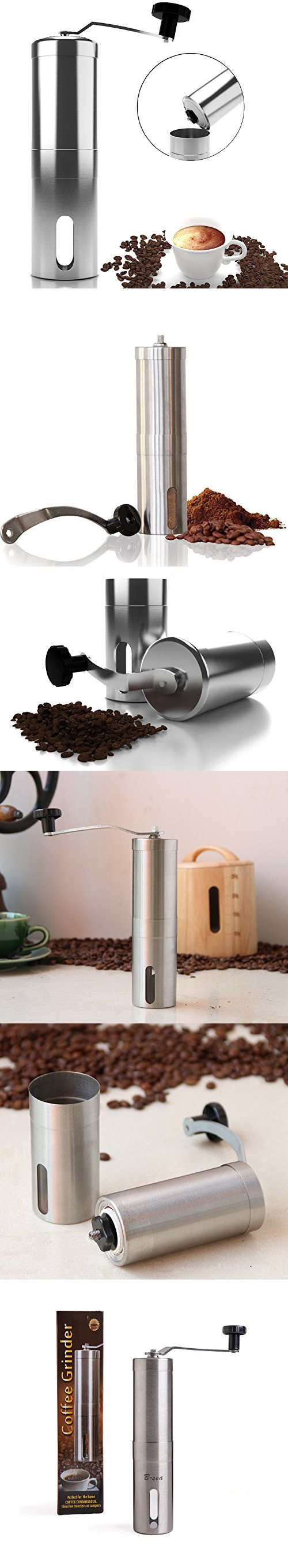 Top Rated Manual Coffee Grinder Maker Best Spice & Coffee