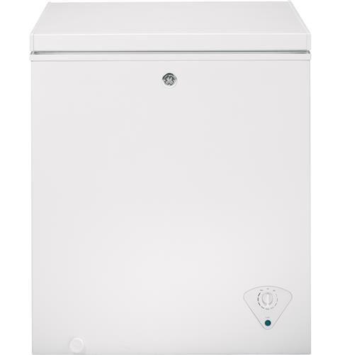 GE® 5.0 CU. FT. Manual Defrost Chest Freezer FCM5SHWW