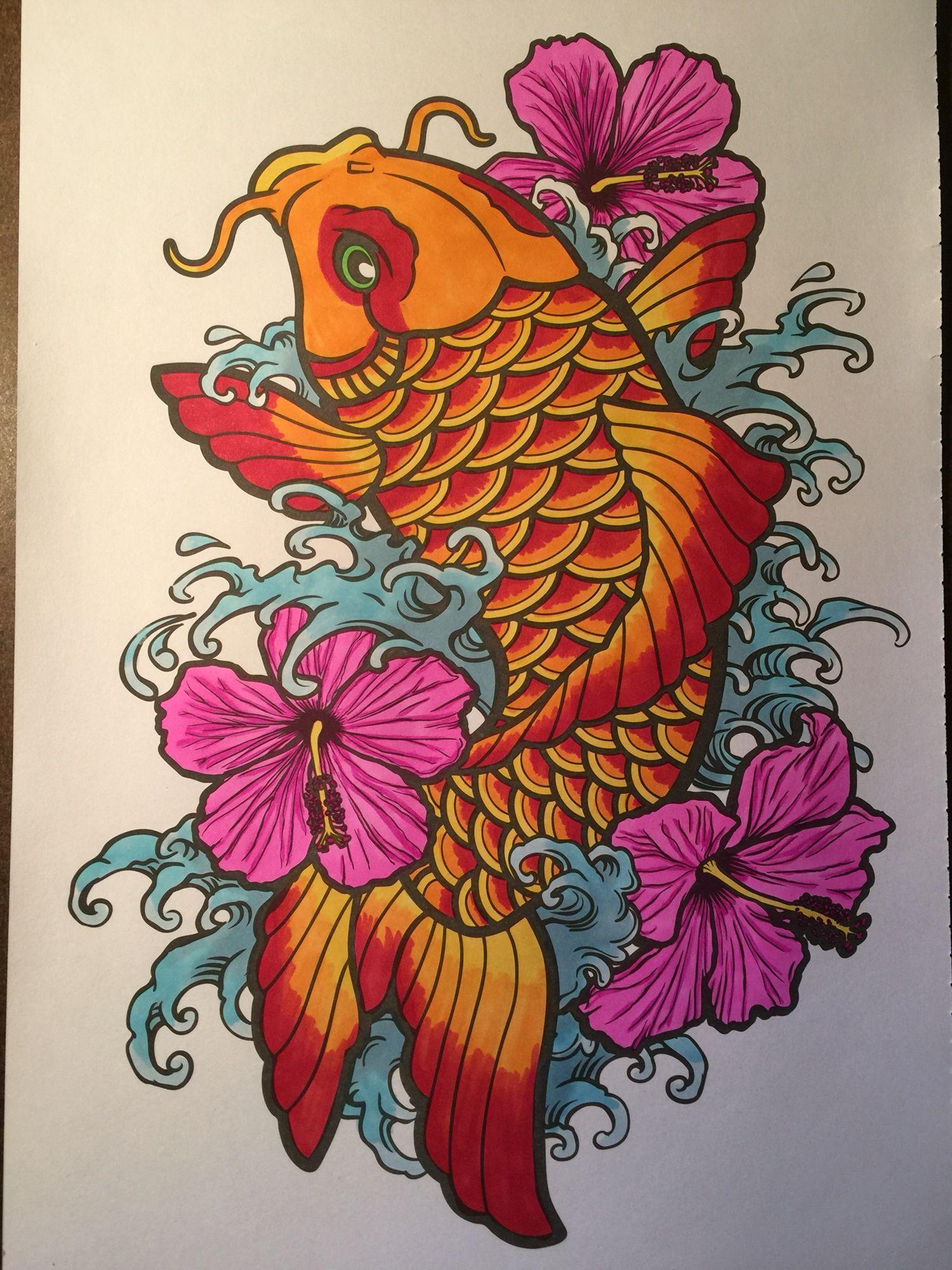 Tat Book Carpa Oriental Designs De Tatuagem Desenho