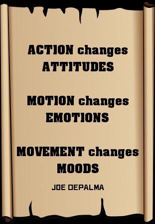Action Changes Attitudes Motion Changes Emotions Movement Changes