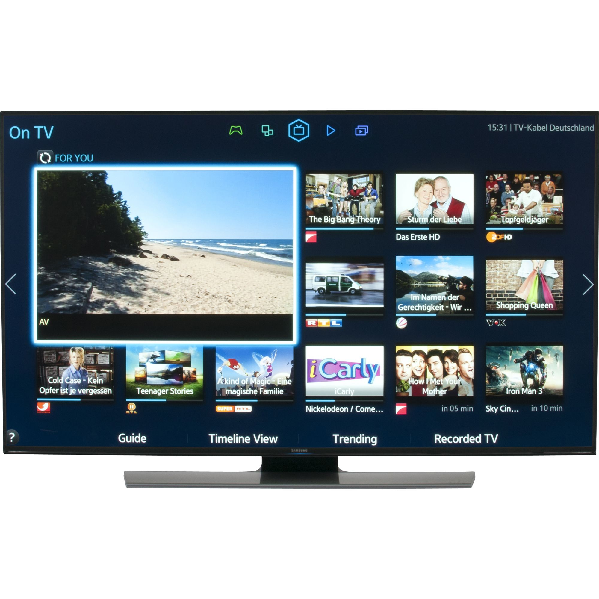 Samsung Ue48hu7500 Televiseur Que Choisir Samsung