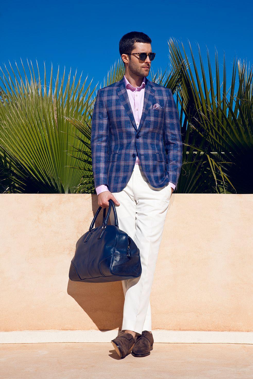 Louis Copeland blazer, Stenstroms shirt, MMX chinos, Stemar shoes, Eton  pocket square