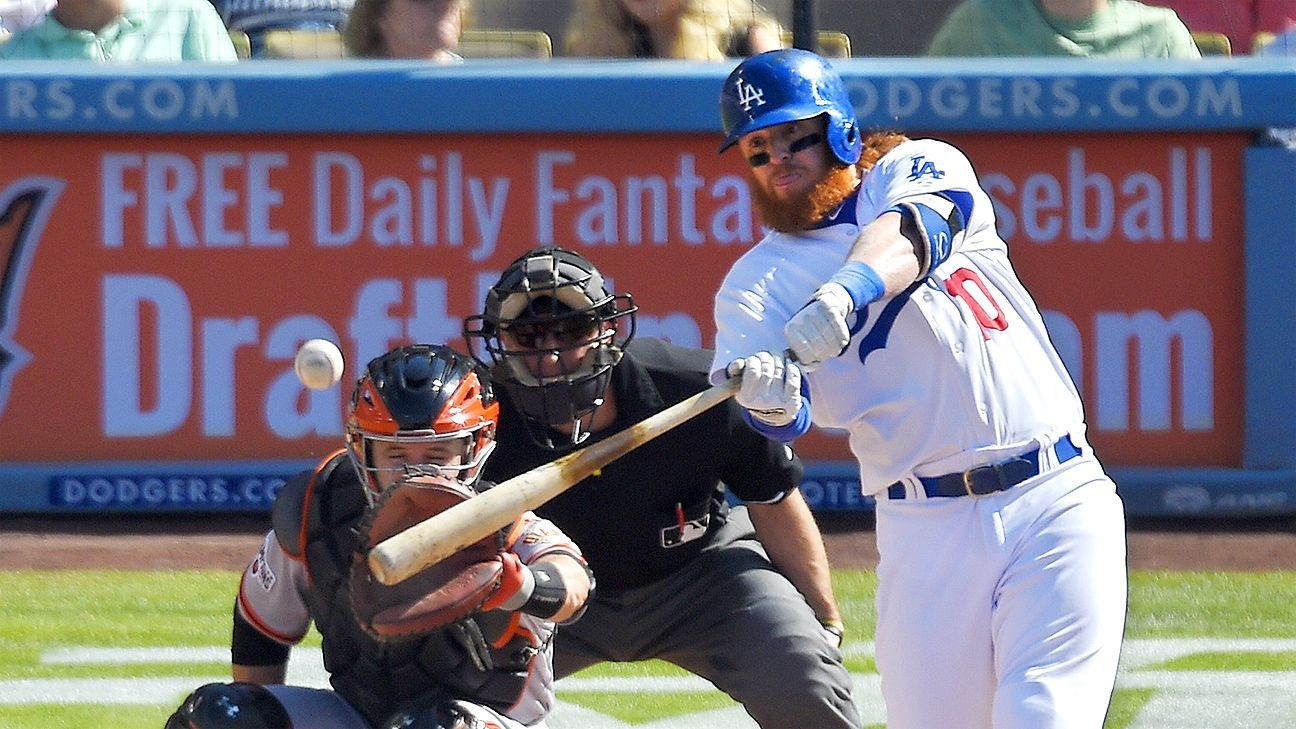 L A S Turner Once Back End Extras In Hr Derby Justin Turner Major League Baseball Streaming Workouts