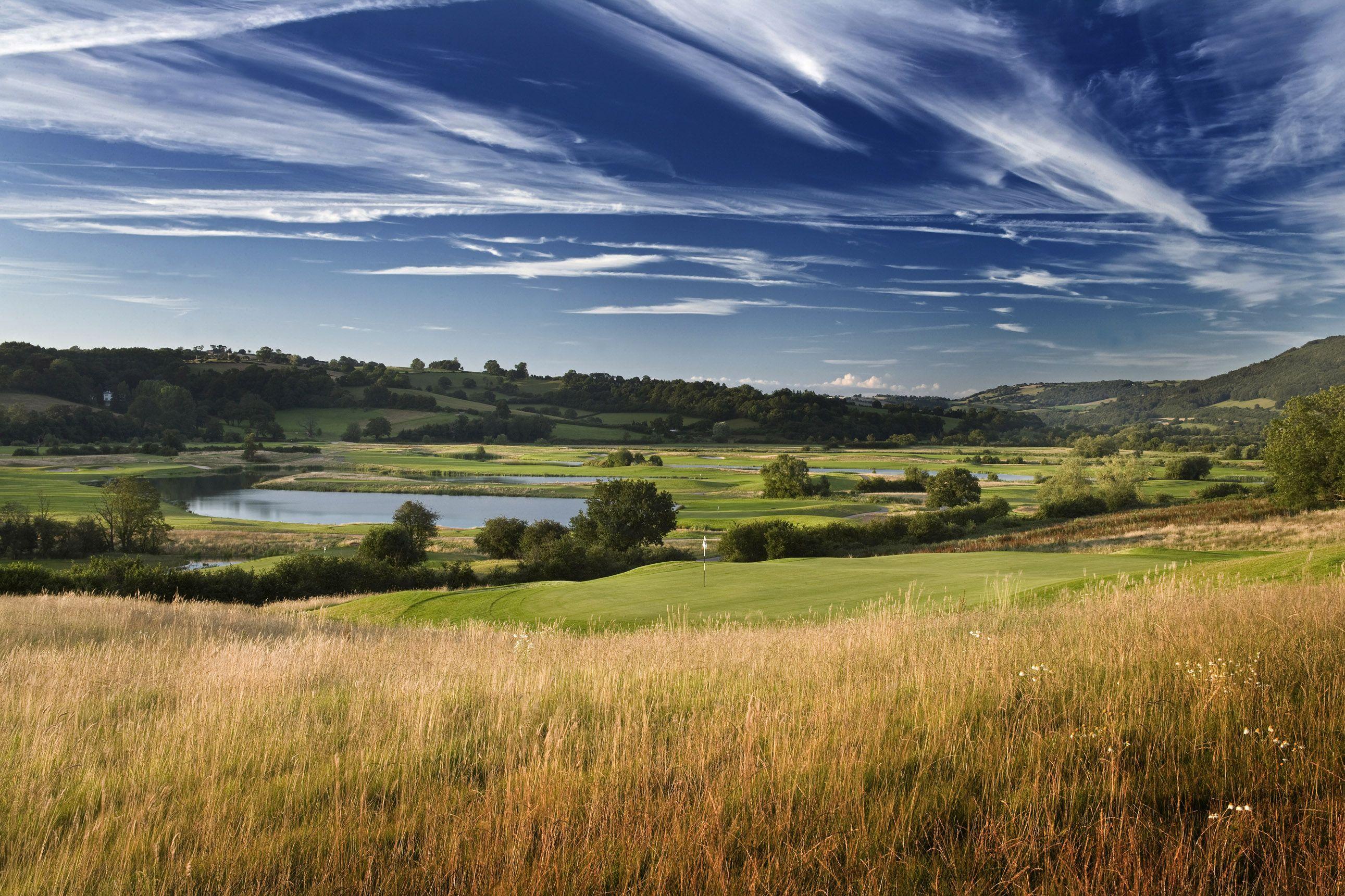 Golf-Celtic Manor- played last year, beautiful.