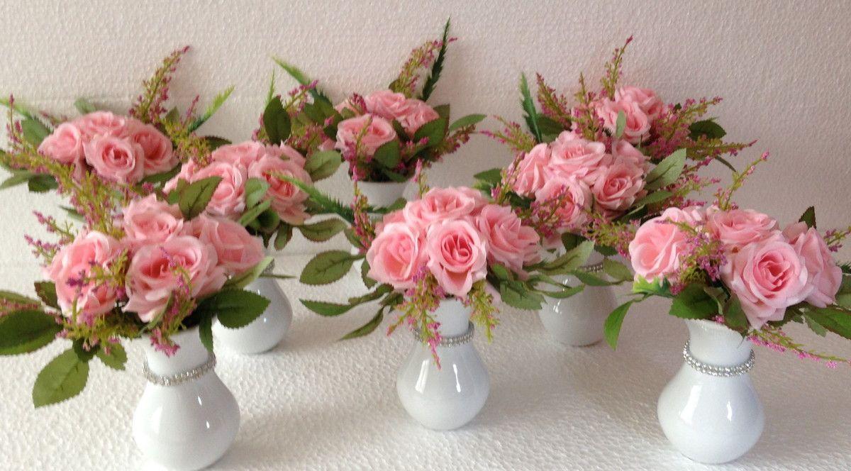 Arranjo De Flores Kit Para Festas Com 10 Arranjos De Flores Para