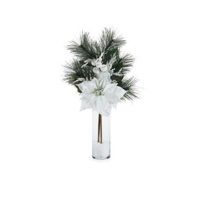 Simple Idea From Michael S Site Christmas Centerpieces Tabletop Decorations Winter Tabletop