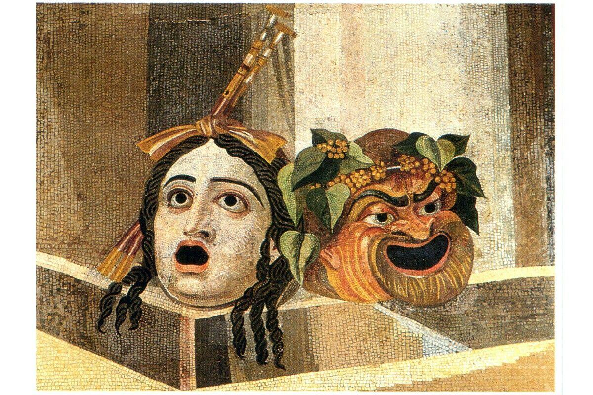 Fabula Atenalla usaba mascaras  y tenia un drama improvisado.  Saturae (ensalada): tenia una gran variedad . -Danza -canciones  -cuadros escenicos