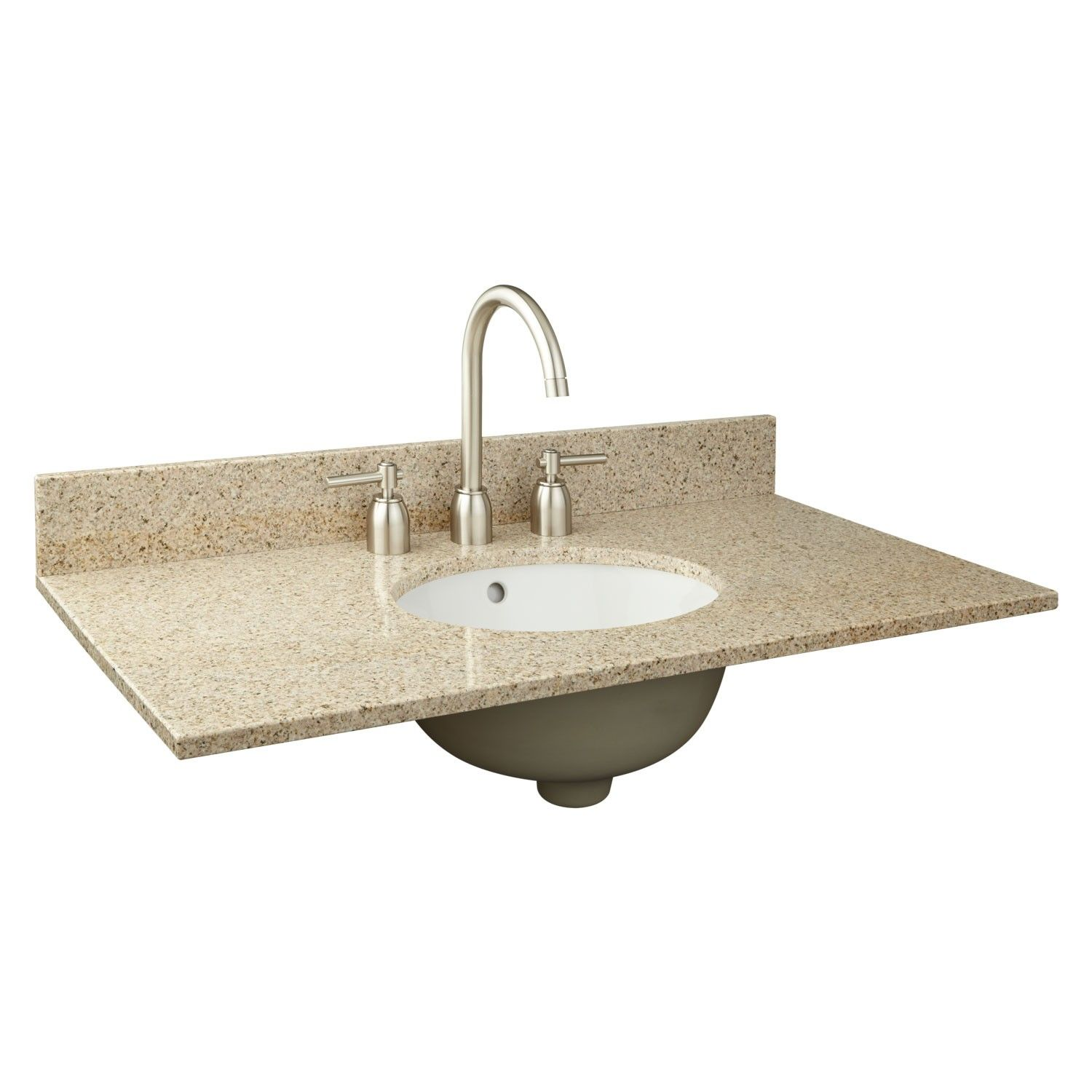 37 X 19 2cm Narrow Depth Granite Vanity Top For Undermount Sink Granite Vanity Tops Undermount Sink Vanity Top
