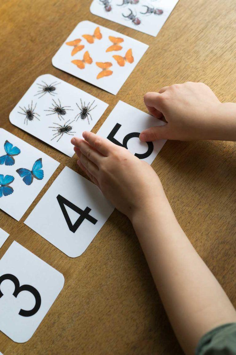 Karten Zählen Lernen
