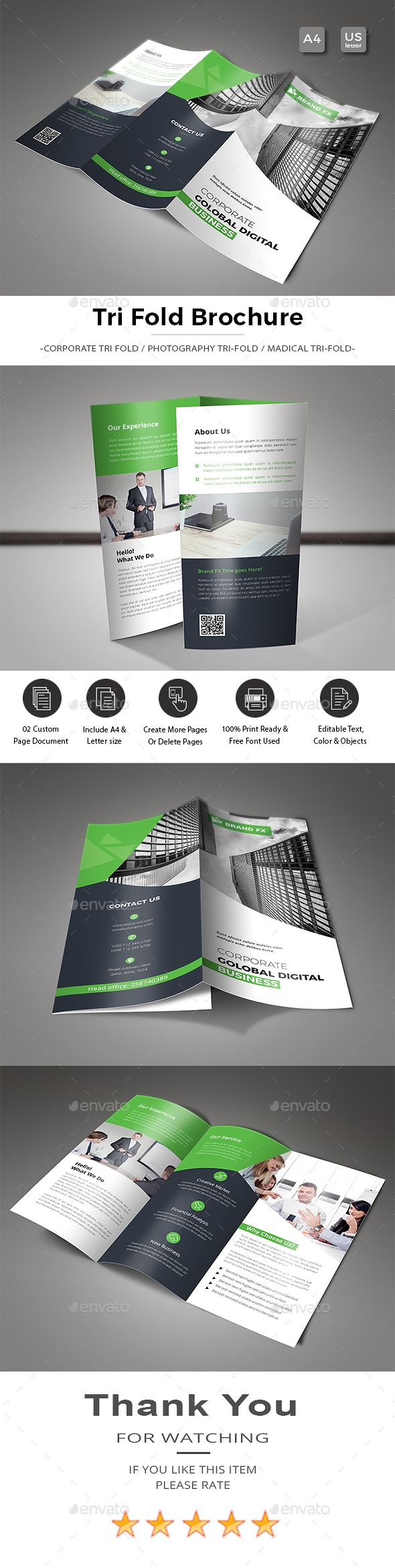 TriFold Brochure  Tri Fold Brochure Brochures And Tri Fold
