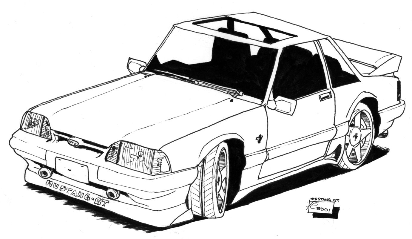 Free Coloring Pages Of Low Rider Cars To Coler