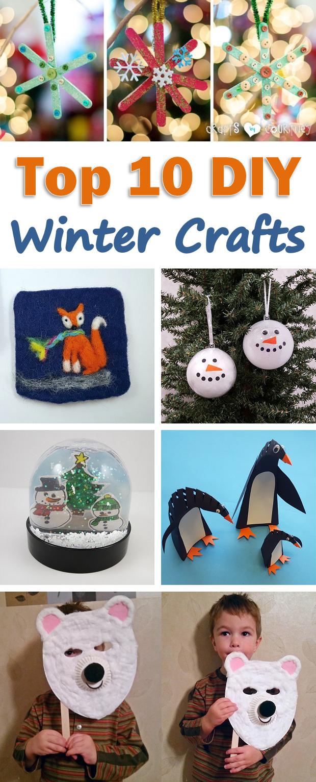 Top 10 Winter Craft Ideas For Kids Winter Crafts Activities