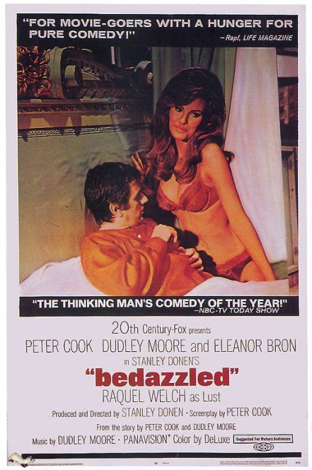 Review of Bedazzled (1967)   Films   Bedazzled movie, Movie