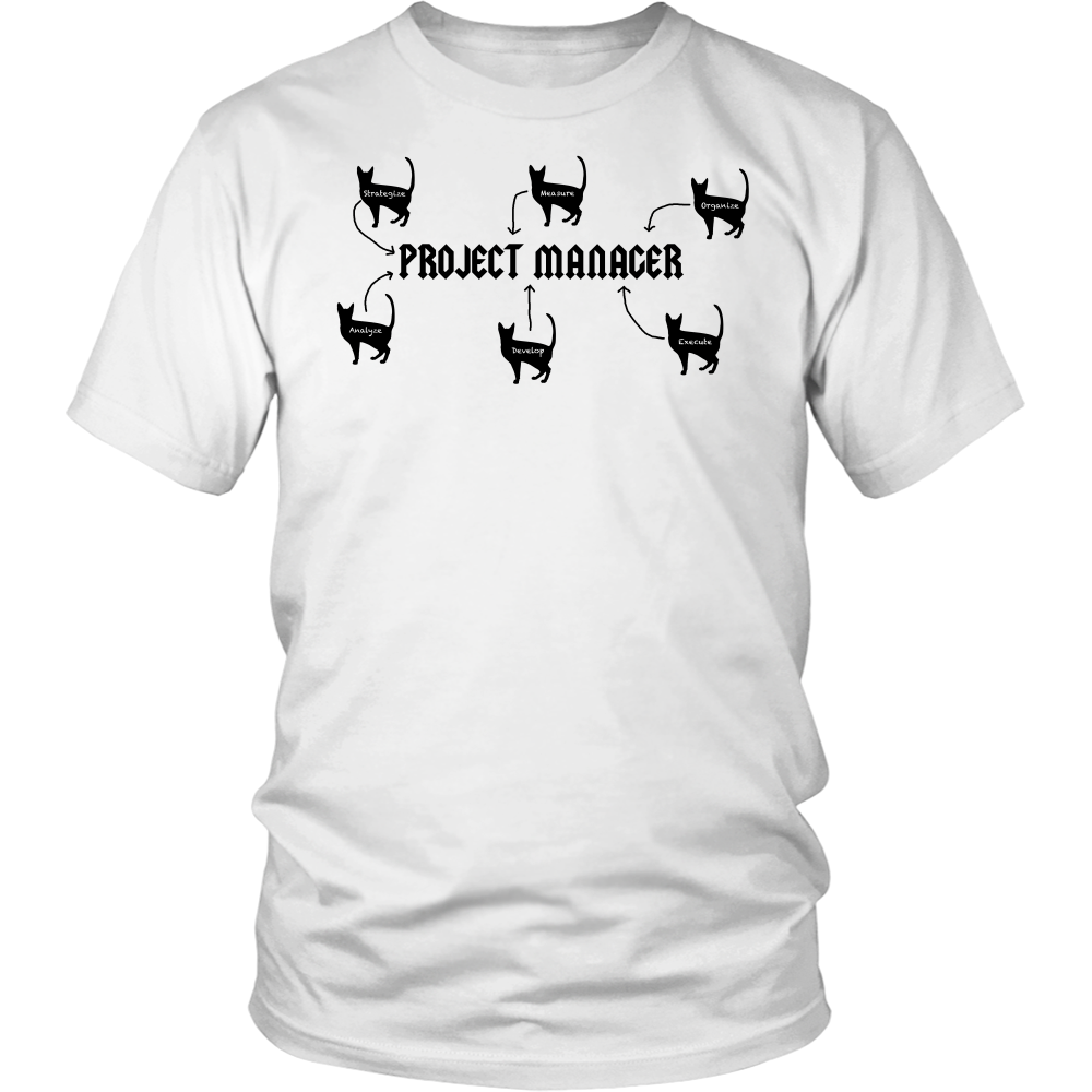 Project Manager Cat Herder Shirts, Mens tshirts